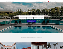 Zentricity Landing page