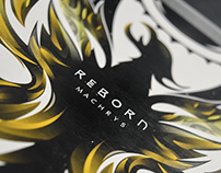 Reborn (Album Cover - Design Logotype) 2017