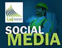 Social media post LUJ construction