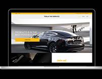 Tesla Taxi Service
