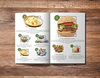Magazine Food Layout Design