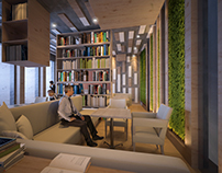 Stories - Cafe & library - Kuwait