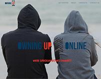 Owning Up Online Website