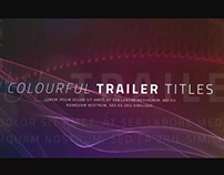 Colourful Titles - After Effects Template Videohive
