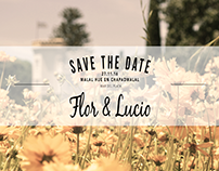 Save The Date - Invitación Casamiento
