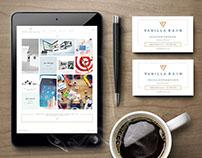 Vanilla Rain Creative Rebranding