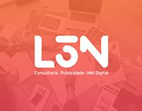 Logo L3N Consultoria | Publicidade | Mkt Digital