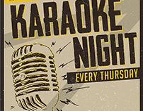 Karaoke Night Flyer/Poster Template