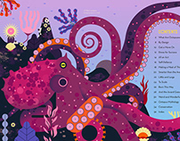 Owen Davey - Obsessive About Octopuses