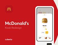 McDonald's Kiosk Redesign