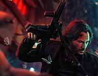JOHN WICK CHAPTER 3 : PARABELLUM Poster Work