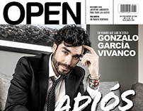 Gonzalo García Vivanco. OPEN cover March 2018
