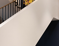 Stairs in a house - Magdalenka ( Warsaw )