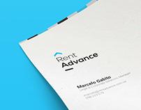 Rent Advance: Logo & Web