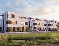 Buytengoed Waalwijk exterior CGI