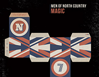 Men of North Country - Magic - Sleeve design