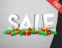 Christmas Sale – Free 3d Render Templates