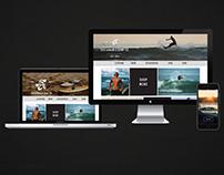 Fin Sustainable Surf Branding