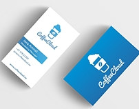 CoffeeCloud Logo and Business Cards