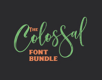 The Colossal Font Bundle: 27 High-Quality Fonts – 99% O