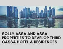 Assa Properties to Develop Third Cassa Hotel