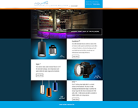 Aquarii Website Concept