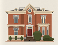 Illustrated Home Prints