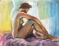 pastel artworks