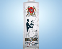 wedding vodka by DanCo Decor