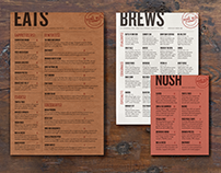 Mine Run Tavern Menus
