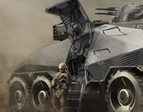 STEALTH ARMOURED FIGHTING VEHICLE