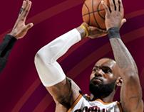 Cleveland Cavaliers 'Adversity' Push Animation
