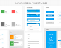 Style guide for Medical application