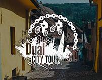 Dual City Tour Logo