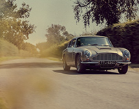 Aston Martin DB6 Photoshoot