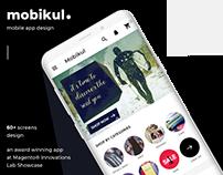 Mobile App Design for eCommerce App Builder