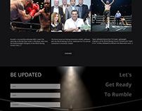 Sports Website Design