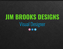 Jim Brooks Designs website