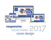 Responsive Social Media Cover Design 2017 - Portfolio