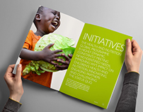 World Vision 2015 Annual Report Design