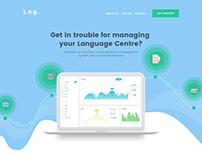 Log. Landing Page