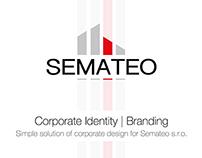 Semateo logo design