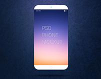 Freebie - Smartphone PSD Mockup
