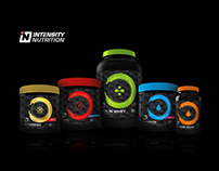 Intensity Nutrition | Packaging Redesign
