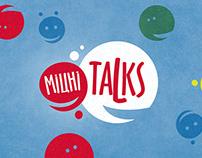 """Rastishka """"Міцні Talks"""". Logo&ID"""