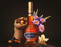 Courvoisier / Print advertising