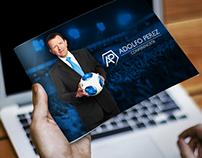 Adolfo Perez · Brochure & Tarjetas Personales