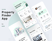 Remedium - Property finder app design | Case study