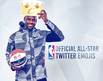 NBA | Twitter Official All-Star Emojis