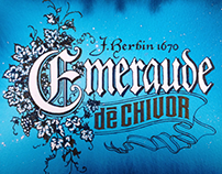 Herbin Emeraude de Chivor and bleach
